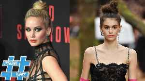 News video: Kaia Gerber And Jennifer Lawrence Prove Messy Is TRENDY | Trending Topics