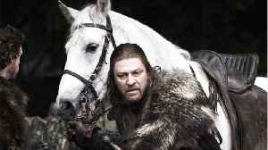 News video: Oh, so here's what Ned Stark was whispering to himself moments before he was beheaded