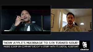 News video: Apple's Rocky History With It's Digital Assistant, Siri