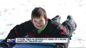 News video: Wixom teen suffering from rare genetic disorder is in desperate need of bone marrow transplant