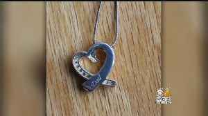 News video: Woman Hopes Thief Will Return Stolen Necklace Containing Dad's Ashes