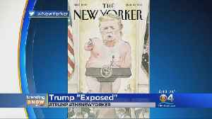 News video: TRENDING: Nude Image Of Trump To Grace Next Cover Of The New Yorker