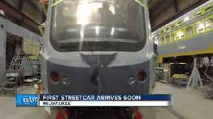 News video: First Milwaukee streetcar vehicle will be delivered this month