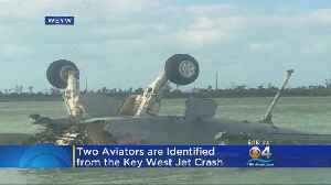 News video: Navy Identifies Pilot, Weapons Officer Killed In Crash Off Key West