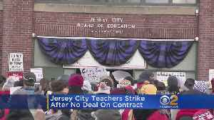 News video: Jersey City Public School Teachers On Strike