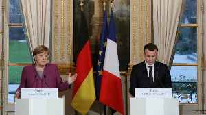 News video: French president blames Russia for assasination attempt on former spy in Britain