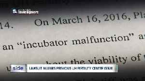 News video: Lawsuit: Previous failure at UH Fertility Center