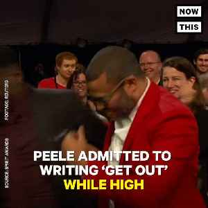 News video: Jordan Peele Smoked Weed While Writing 'Get Out' Script