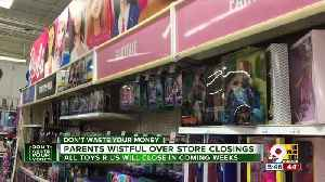 News video: Parents wistful over store closings