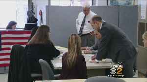 News video: Official Ballot Count Begins In 18th Congressional District
