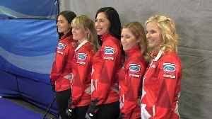 News video: Jill Officer 'energized' for final curling world championship