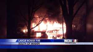 News video: Maben House Fire - 3/15/18
