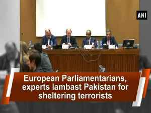 News video: European Parliamentarians, experts lambast Pakistan for sheltering terrorists