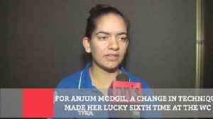 News video: For Anjum Modgil, A Change In Technique Made Her Lucky Sixth Time At The WC