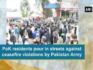 News video: PoK residents pour in streets against Pakistan army's brutalities
