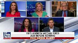 News video: Trump Tweets About McCabe Firing: 'A Great Day For Democracy'