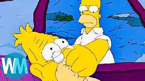 News video: Top 10 Times The Simpsons Went Too Far