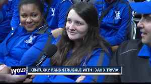 News video: Kentucky fans struggle with Idaho Trivia