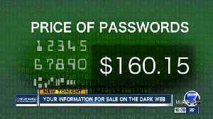 News video: Your information for sale on the dark web