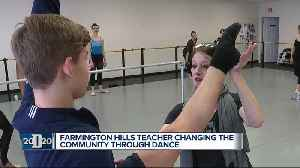 News video: D2020 Person of the Week: Ballet teacher inspires students through therapeutic dance