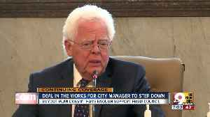 News video: Deal in the works for city manager to step down