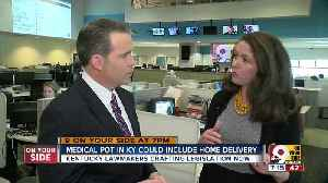 News video: Medical pot in KY could include home delivery