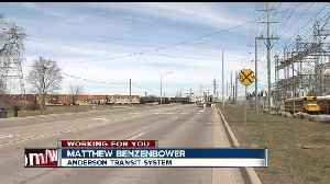 News video: Bus drivers for Anderson Community Schools say stopped trains are delaying buses