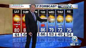 News video: Latest Weather Forecast 11 p.m. Friday