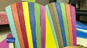 News video: Former bullying victim delivers friendship benches to Fond du Lac schools