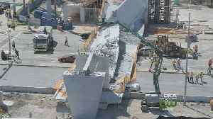 News video: Engineer Reported Cracks In Bridge At FIU Before Collapse