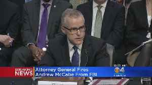 News video: Attorney General Jeff Sessions Fires Ex-FBI Deputy Director Andrew McCabe