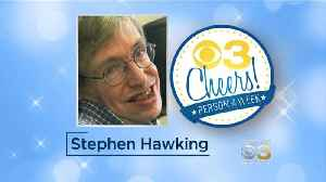 News video: Jessica Dean's 3 Cheers: March 16, 2018: Stephen Hawking