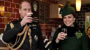 News video: Pregnant Kate Middleton Celebrates St. Patrick's Day With Prince William -- See the Pics!