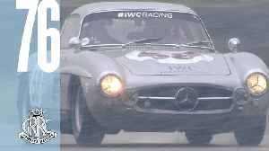 News video: David Coulthard's snowy Gullwing showing