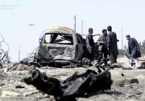 News video: Taliban Claims Responsibility for Deadly Suicide Car Bomb Attack in Kabul