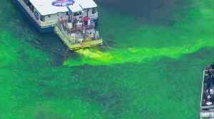 News video: Chicago River goes green for St. Patrick's Day