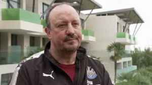 News video: Benitez: 40 points will secure safety