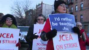 News video: Judge Orders Teachers Striking in New Jersey to Return Back to School Monday