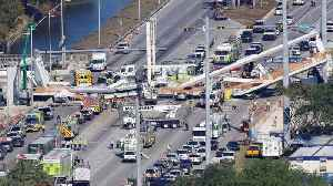 News video: Florida School Says It Was Aware of Bridge Cracks Before Fatal Collapse