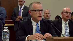News video: Andrew McCabe May Have Memos Of Trump Interactions