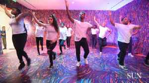 News video: Student dance crew convey feelings, experiences with gun violence through hip-hop performances at BMA Saturday