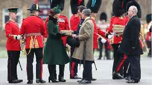 News video: Duchess Kate Shows Off Baby Bump at St. Patrick's Day Parade