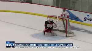 News video: Preview of Badgers women's hockey in the Frozen Four