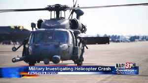 News video: Military Helicopter Crash