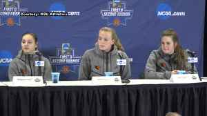 News video: Web Extra: Oregon State women's basketball team after first