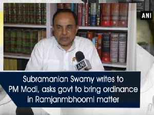 News video: Subramanian Swamy writes letter to PM Modi, asks government to bring ordinance in Ramjanmbhoomi land matter