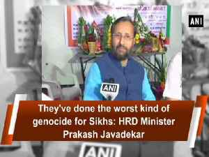 News video: They've done the worst kind of genocide for Sikhs: HRD Minister Prakash Javadekar