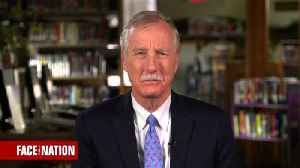 News video: Sen. King says it would be a