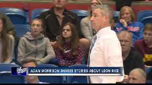 News video: Adam Morrison shares stories about Leon Rice