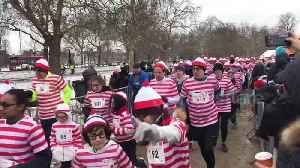 News video: Thousands of Wallies brave Mini Beast from the East for UK fun run